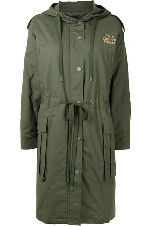 Twin-Set Graphic print parka jacket