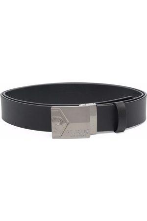 Philipp Plein Homem Cintos - Buckle-fastening leather belt