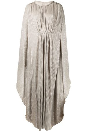 JONATHAN SIMKHAI Farrah plissé kaftan dress