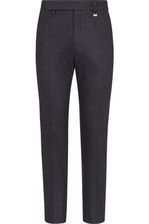 Fendi Homem Calças Formal - Tailored straight-leg trousers