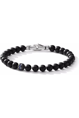 David Yurman Homem Pulseiras - Spiritual Beads pavé accent 6mm bracelet