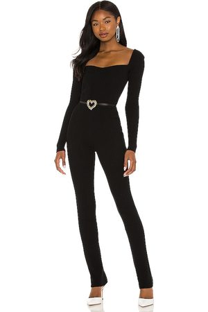 Lovers + Friends Mulher Macacões - Cara Knit Jumpsuit in - . Size L (also in XXS, XL).