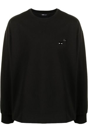 ZZERO BY SONGZIO Panther-patch long-sleeved T-shirt
