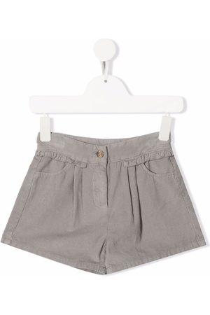 KNOT Fairy corduroy ruffle-trim shorts