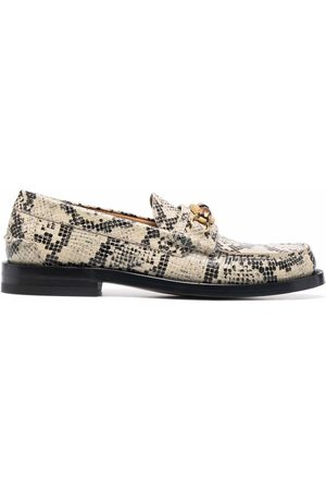 Gucci Mulher Oxford & Moccassins - Bamboo-detail loafers