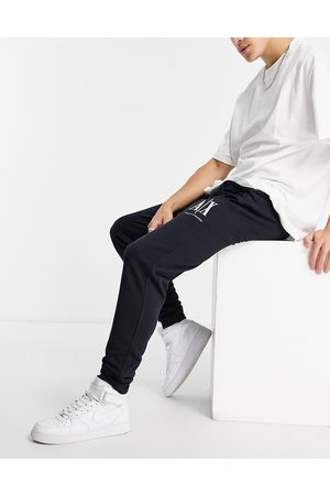 Armani Icon joggers in navy