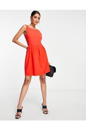 French Connection Mulher Vestidos de Festa - Mini shift dress in red