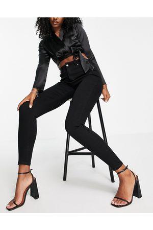 In The Style X Jac Jossa skinny jeans in black