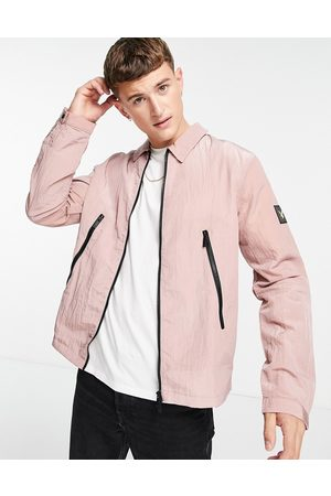 Lyle & Scott Casuals overshirt in pink