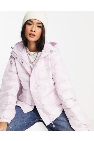 Levi's Levi's packable padded jacket in lilac-Purple