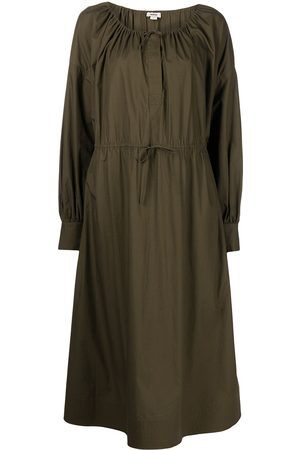 Jason Wu Mulher Vestidos Casual - Drawstring-waist scoop neck dress