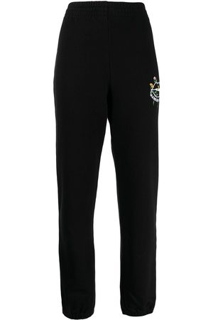 Markus Lupfer Embroidered logo joggers