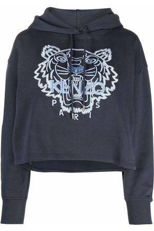 Kenzo Mulher Tops de Cavas - Embroidered-logo hoodie