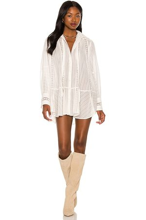 Free People Mikaela Tunic in - Ivory. Size L (also in XS, S, M).
