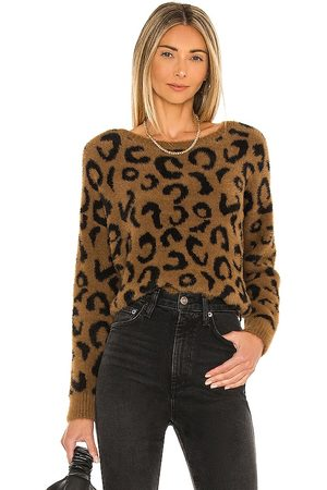 Bella Dahl Crew Neck Sweater in - Brown. Size L (also in S, XS, M).