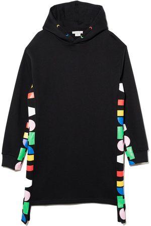 Stella McCartney Kids Menina Vestidos Casual - Oversize hooded fleece dress