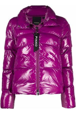 Pinko High-shine finish puffer jacket
