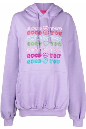 Ireneisgood Good For You embroidered hoodie