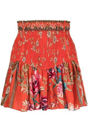 Camilla Mulher Mini-saias - The Queen Wore shirred mini skirt