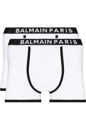 Balmain Homem Boxers - Logo-waistband set of two boxer shorts