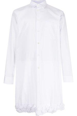 Comme des Garçons Braided hem longline shirt