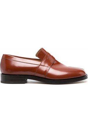 Maison Margiela Tabi-toe leather loafers