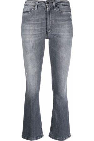 Dondup Mulher Slim - Mid-rise slim-cut jeans