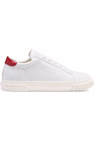 Giuseppe Zanotti Homem Ténis - Crocodile-effect Blabber sneakers