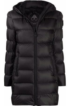 Moose Knuckles Mulher Casacos de Inverno - Hooded padded coat
