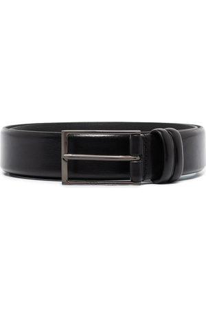 HUGO BOSS Carmello rectangle-buckle belt
