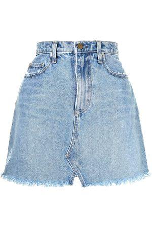 NOBODY DENIM Piper denim mini skirt