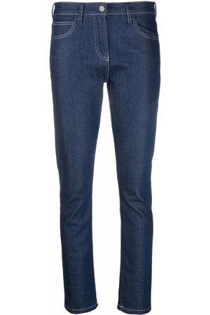 There Was One Indigo slim-cut denim jeans