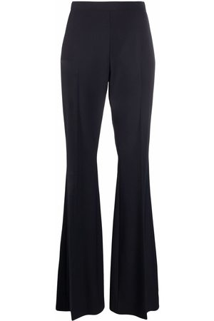 There Was One High-waisted flared tailored trousers