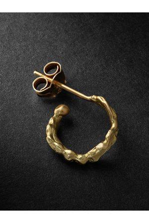 HEALERS FINE JEWELRY Homem Brincos - Recycled Single Hoop Earring