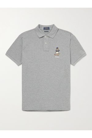 Polo Ralph Lauren Slim-Fit Logo-Embroidered Cotton Polo Shirt