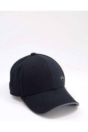 HUGO BOSS Contrast logo baseball cap in black