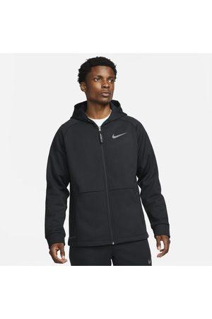 Nike Homem Casacos - Casaco com capuz e fecho completo Pro Therma-FIT para homem
