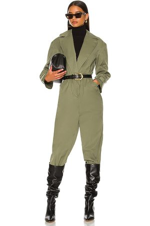L'Academie Mulher Macacões - Kaleena Jumpsuit in - Army. Size L (also in M, S, XL, XS, XXS).