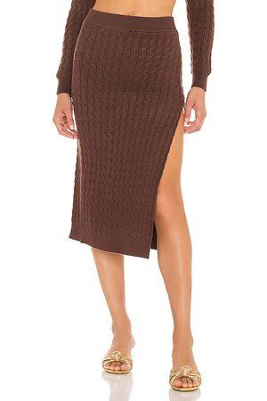 LPA Charlotte Midi Skirt in - . Size L (also in M, S, XS).