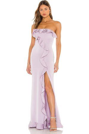 NBD Mulher Vestidos de Festa - Luna Gown in - Lavender. Size L (also in M, S, XL, XS, XXS).
