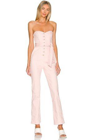 MAJORELLE Rashida Jumpsuit in - Pink. Size L (also in M, S, XL, XS, XXS).