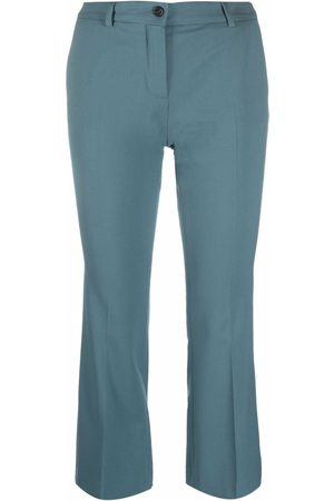 ALBERTO BIANI Mulher Calças Formal - Cropped tailored trousers