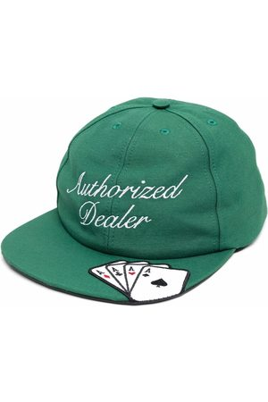 JUST DON Card-embroidered cap