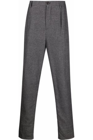 Brunello Cucinelli Checked tapered trousers
