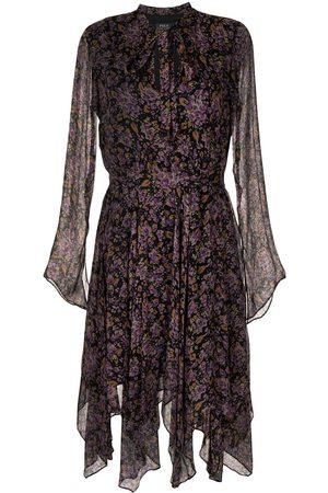Polo Ralph Lauren Floral-print long-sleeve dress