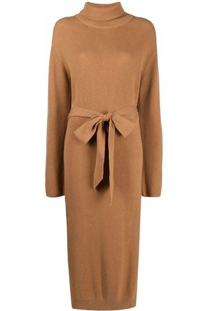 Nanushka Belted knitted dress