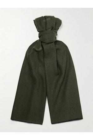 Givenchy Homem Cachecóis & Echarpes - Logo-Jacquard Wool Scarf