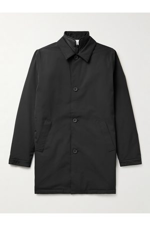 NN.07 Blake Convertible Padded Stretch-Twill Trench Coat