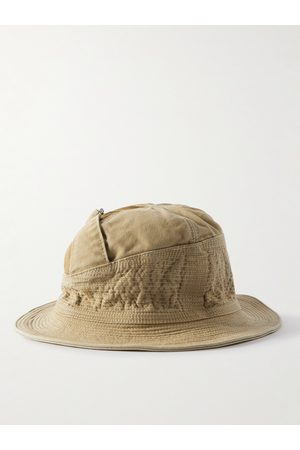 KAPITAL Quilted Cotton Bucket Hat
