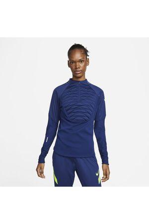 Nike Mulher Camisolas sem capuz - Camisola de treino de futebol Therma-FIT Strike Winter Warrior para mulher